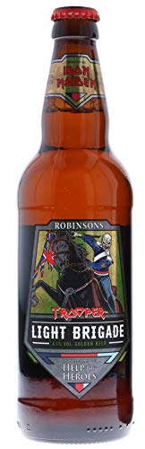 Iron Maiden Light Brigade Ale Help For Heroes, Flasche, 1 x 500 ml