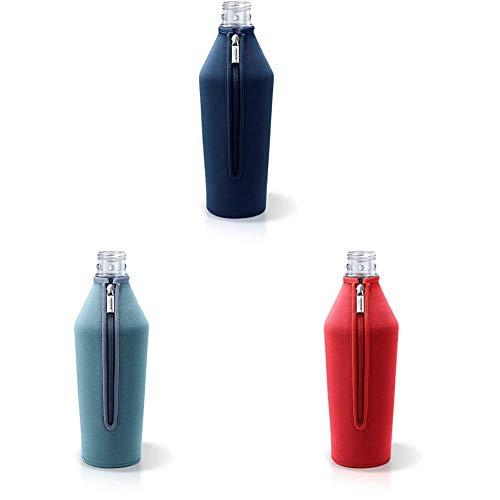 nobellgo® Neopren Schutzhülle für Sodastream Glasflaschen Glasflaschenschutz