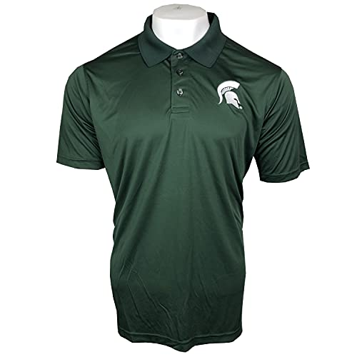 Pro Edge by Knights Apparel NCAA Michigan State Spartans Polo Shirt, X-Large