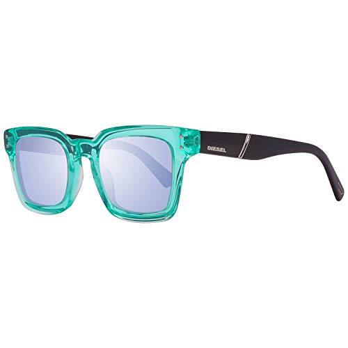 Diesel Sonnenbrille Dl0229 5093X Gafas de sol, Verde (Grün), 50 Unisex Adulto
