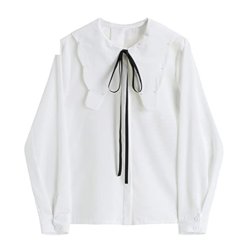 Chiffon Solid Blouses and Shirts for Ladies Office Lady Elegant Blusas Tops Female Long Sleeve Irregular Collar Cardigan