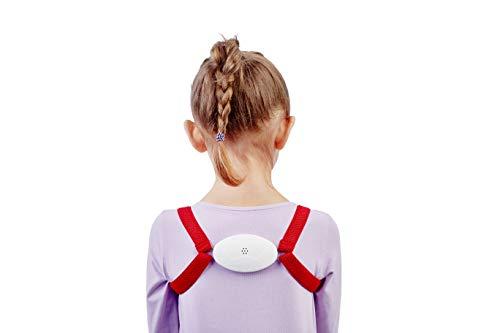 Rückenhalter für Kinder und Erwachsene, Geradehalter zur Haltungskorrektur, Haltungstrainer, Rückentrainer. Es vibriert, wenn Sie sich krümmen.
