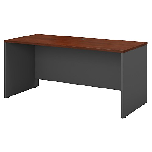 Bush Business Furniture Series C 60W x 24D Credenza Desk in Hansen Cherry