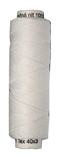 Leinengarn 100% Leinen 40x3 weiß 50 m (2001)