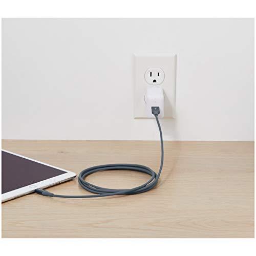 Amazon Basics - Lightning-auf-USB-A-Kabel, Premium-Kollektion, 1,8 m, 1er-Pack - Grau