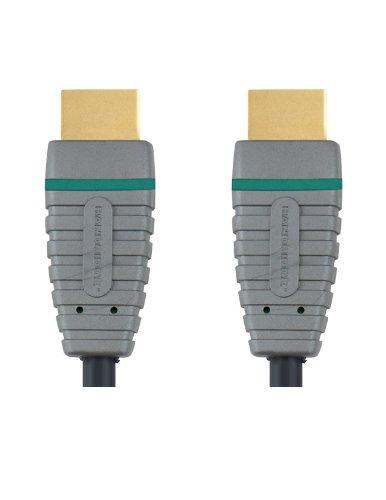 Bandridge BVL1205 high-speed kabel met Ethernet HDMI -A stekker 5 m