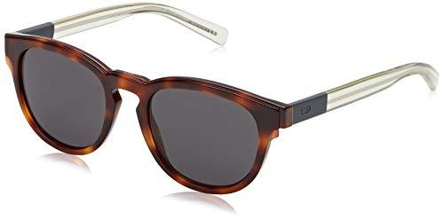 Dior BLACKTIE212S Y1 Mwa Gafas de sol, Gris (Havana Crygrey/Grey), 52 para Hombre