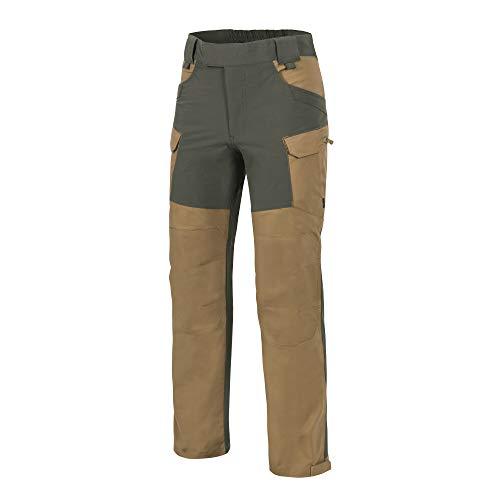Helikon-Tex Hybrid Outback Pants - DuraCanvas - Coyote/Taiga Green A