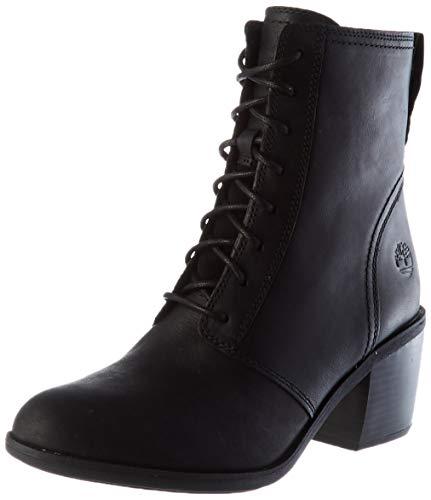 Timberland Damen Brynlee Park Lace-up Stiefel, Schwarz Black Full Grain, 38 EU