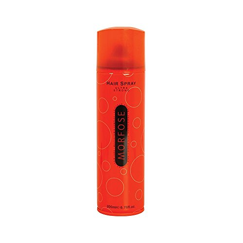 3x Morfose Haarspray Ultra Strong Orange 200ml