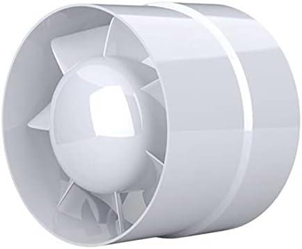 IN-OV – Ventilador extractor de aire, económico 150 mm, 18 W/320 m3, extractor axial conducto en línea: cuarto de baño, cocina, etc.