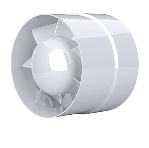 IN-OV – Ventilador extractor de aire, económico 125 mm, 16 W/240 m3, extractor axial conducto en línea: cuarto de baño, cocina, etc.