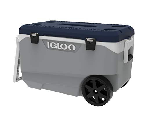 Igloo MaxCold 90qt Wheeled Roller, ash Gray
