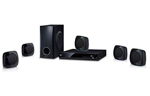 LG DH4130S Sistema de Cine en casa – Equipo de Home Cinema (Reproductor de DVD, CD-R, CD-RW, DVD+R,…