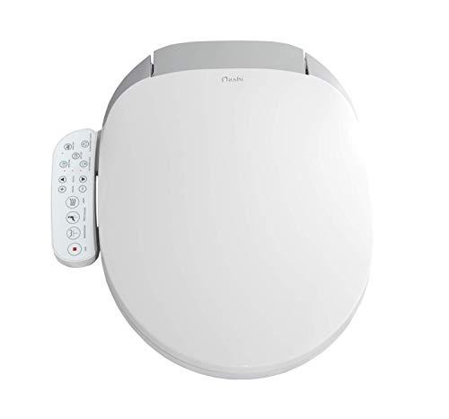 Nashi Compact Pro tapa inodoro bidet, asiento sanitario japonés inteligente, wc para baño con ducha eléctrica