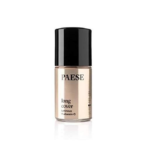 PAESE Long Cover Seidengrundierung für trockene Haut 03N Natural 30ml