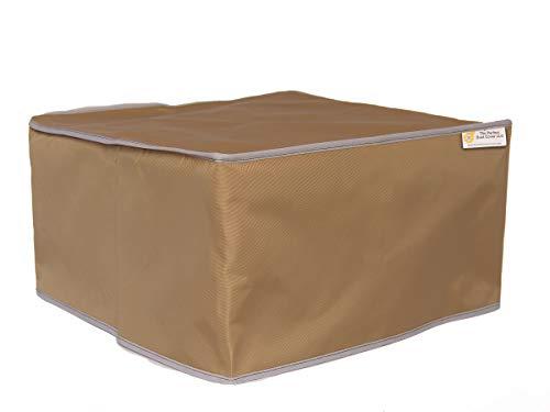 The Perfect Dust Cover LLC Staubschutz, hellbraune Nylonhülle für Martin Yale 2051 SmartFold Papier-Faltmaschine, antistatische, wasserdichte Abdeckung, Maße 100 x 56 x 45 cm (B x T x H)