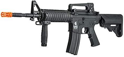 Lancer Tactical Gen 2 Upgraded RIS LT-04 AEG Metal Gear Electric Airsoft Gun, Black