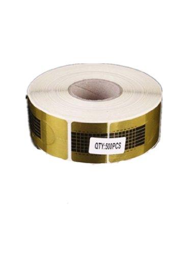 500 pièces chablons papier construction faux ongles gel uv ou resine