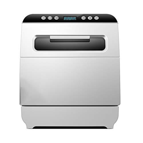 Mini Geschirrspüler,70 ° C 80 ° C Hochtemperaturheizung Und -spülung, Sterilisationsrate Bis Zu 99,99%,Tischgeschirrspüler
