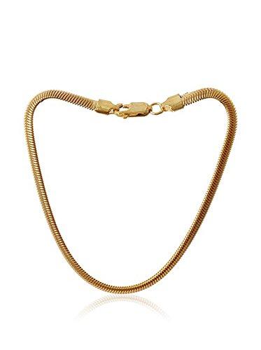 Córdoba Jewels | Pulsera en goldfilled Laminado de Oro 14/20. Diseño Serpiente