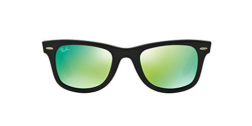 Ray-Ban MOD. 2140, Gafas de Sol Unisex, Multicolor (Schwarz/Grün/Braun), 54 mm