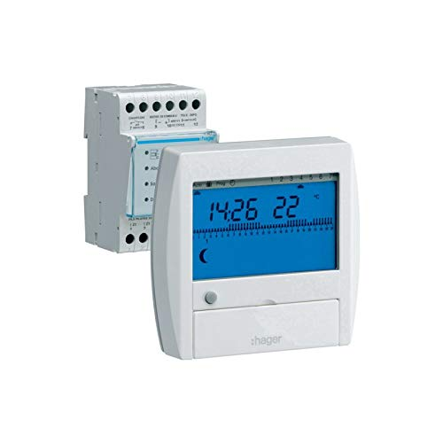 Hager 49112 – Energie-Manager, 3 Zonen – 49112 – Hager – 49112
