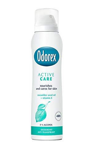 Odorex Body Heat Responsive Spray Active Care, 150 Ml