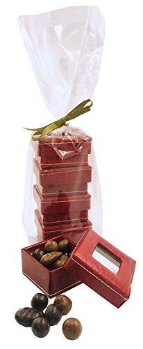 Ballotin chocolat Joyeux Noel - cadeau convive - coffret cadeau chocolat de noel