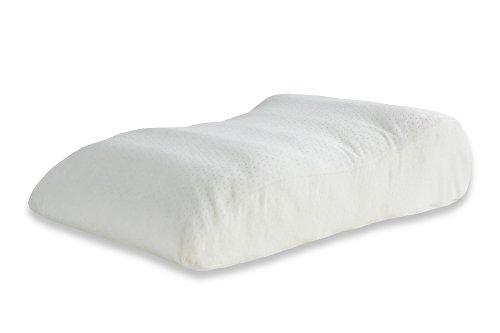 Badenia 9841190-55 Bettcomfort Irisette Vital Venenkissen, 70 x 45 cm, weiß