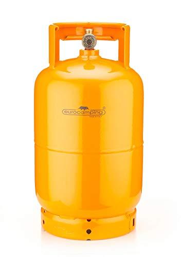 Eurocamping Gasflasche LPG, geprüft.Komplett mit Hahn.Wird leer geliefert.