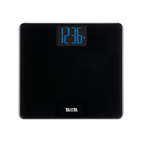 Tanita HD-366 Digital Weight Scale with Large Blue Backlit LCD, with 440 lb Weight Capacity.