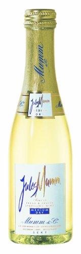 Jules Mumm Medium Dry Sekt 11% 24-0,2l Piccolo Flaschen