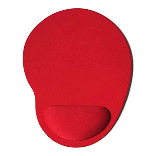 BEIMODZ Alfombrilla de Ratón Pequeños pies Mouse Pad Equipo Juego Creativo Color sólido Ambiental eva Pulsera cómoda Alfombrilla de ratón (Color : 02)