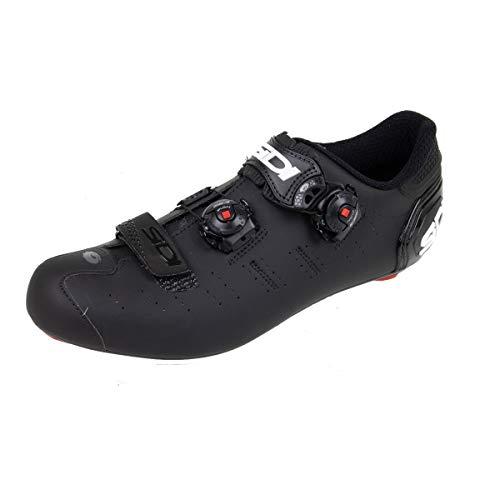Ergo 5 Mega Carbon Road Cycle Shoes (Wide) (45.5 Wide, Matte Black/Black)