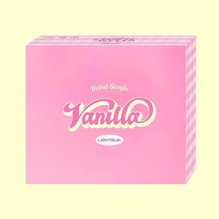 【当店追加特典:ポスター筒に入れて配送】LIGHTSUM - Vanilla (1st Single) ライトサム バニラ デビューシングル
