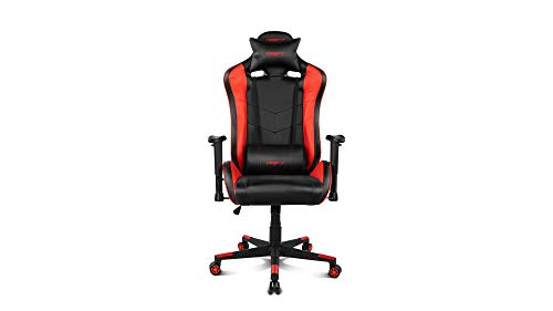 Drift DR85BR - Silla Gaming Profesional, polipiel, reposabrazos 2D, piston clase 4, asiento...