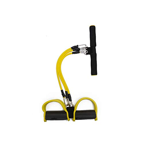 ZEH 3 U-Multifunktions Tretwiderstand Bandseil Ausrüstung Latex übt elastischen Bänder for Pilates Crossfit FACAI (Color : Yellow)