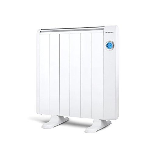 Orbegozo RRE 1010 – Emisor térmico bajo consumo, 1000 W de potencia, 6 elementos, pantalla digital LCD, mando a distancia...