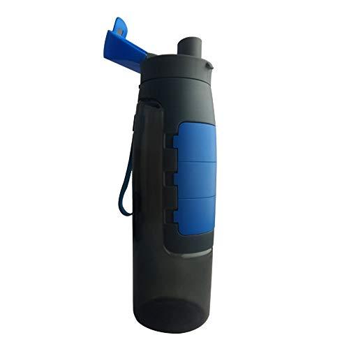 klamsen Water Bottle With Pill Case