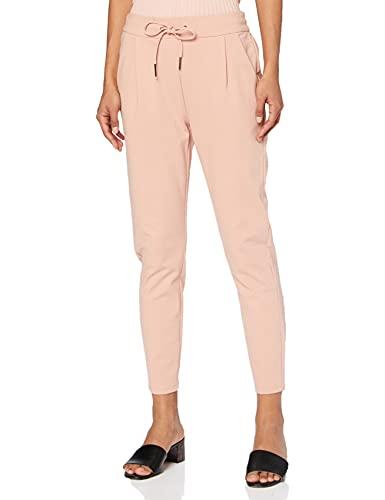 Vero Moda NOS Damen Hose VMEVA MR LOOSE STRING PANTS NOOS Rosa (Misty Rose), 42W / 30L (Herstellergröße: X-Large)