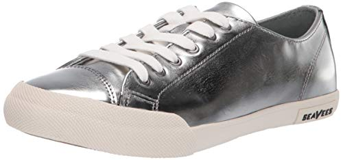 SeaVees Women's Army Issue Low Sneaker, Abalone, 8 M US