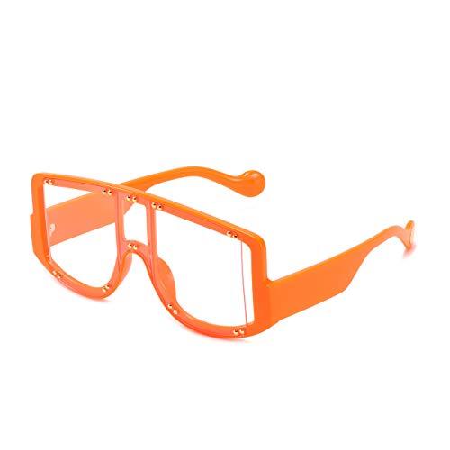 N\P Mujer Gafas De Sol Retro Con Marco Grande Coloridas Gafas De Sol Una Pieza OcéAno