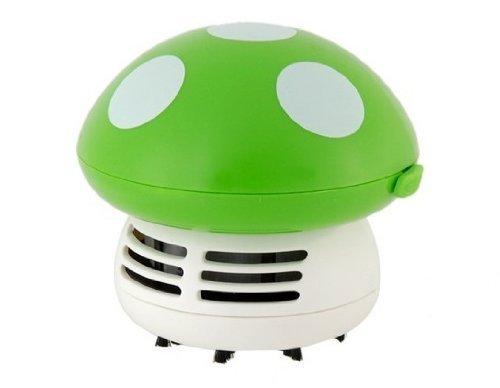 BT-EMALL Destacado creativa Forma de seta Mini Aspirador para el hogar / oficina / limpieza de habitaciones (Verde): Amazon.es: Hogar