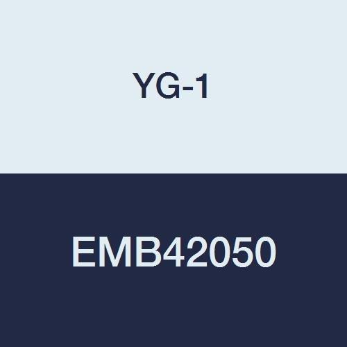 YG-1 EMB42050 5.0 mm Carbide V7 Mill INOX End Mill, 4 Flute, Short Length, 54 mm Length