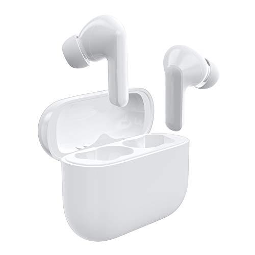LETSCOM Bluetooth Kopfhörer, Bluetooth 5.0 kabellose Kopfhörer in Ear drahtlose Stereo Kopfhörer, 28 Stunden Spielzeit mit Ladebox, Bluetooth Ohrhörer mit integriertem Mikrofon für Sport und Arbeit…