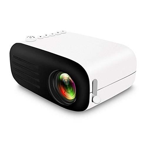 WENTINGLIN Mini proyector WiFi Mini HD 1080P LED proyector de Cine en casa Cine Niños de Navidad Conferencia de Anclaje Regalo de proyección con Zoom 4k