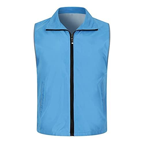 Chaleco reflexivo modificado para requisitos particulares hombres mujeres 1pc trabajo ropa conveniente