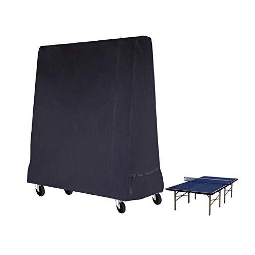 Mutsitaz Funda Protectora para Mesa de Ping-Pong Impermeable Resistente al Polvo Anti-UV Protección Oxford 165 x 70 x 185 cm