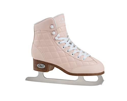 HUDORA Damen & Mädchen, rosa/weiß, Schlittschuhe Damen Eislaufschuhe Julia, Gr. 37-Ice Skates